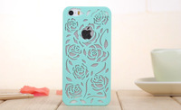 new arrival fashion rose pc cover for apple iphone 5 5s Soft GEL back case cover for iphone 5 PC04