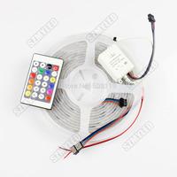 5M 30pixel/M 10IC RGB led strip light UCS1903 waterproof IP67+24key magic controller addressable led pixels strip