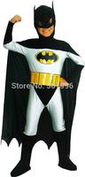 batman cosplay costumes for boys/halloween cosplay costumes for kids/children cosplay costumes D-1542