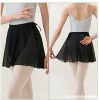 New Chiffon Adult Ballet Leotard Tutu Skirt Dance Skate Wrap Scarf Costume Dress