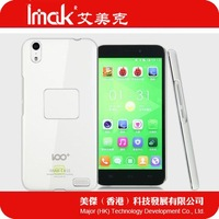 Original IMAK Crystal shell Slim transparent shield/case +Screen protector for BAIDU 100+ v6 + retailed package + free shipping