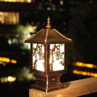 Outdoor lamp wall light garden lights wall light outdoor lamp post caplights column dome light the door lamp