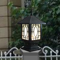 Pillar lamp post caplights wall light wall light column light outdoor garden lamp fashion lamp post waterproof vintage