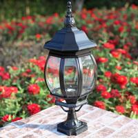 Column dome light wall light column head fashion outdoor lamp post garden lights garden lights waterproof lamp