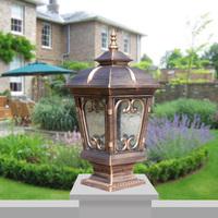 Modern column head wall light lawn lamp garden lights garden lights park lamp lawn lights wall light lamp post