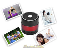 SDY-001 Portable Mini Bluetooth Music Speaker Micro SD/TF card U-disk Player For iPhone Smartphone FM radio Free Shipping 5pcs