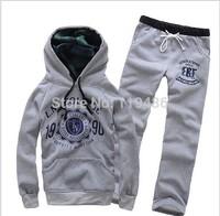 Tracksuits Hoodie Men's Sport Suits Fashion Coats Jacket Set Pants Sportswear Brand Male sweatshirt CMR36