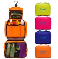 6 Color Fashion Travel Wash Bag Storage Case Large Capacity Cosmetic Bags Outdoor Hanging Sorting Bags Waterproof Handbag