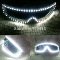 Bright LED glasses luminous glasses free shipping