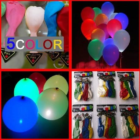 20pcs/lot Glowing Wedding Decoration High Quality Ballon Led Flashing Baloon With Flashing Led Balloons Lights(China (Mainland))
