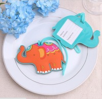 100PCS/LOT lucky elephant Luggage Tag baby shower party Favor  gifts