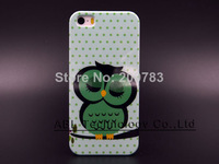 For iPhone 5s Ultrathin Pattern Back Cover Hard Case for iPhone 5 5s Free Shipping With Amazing Print