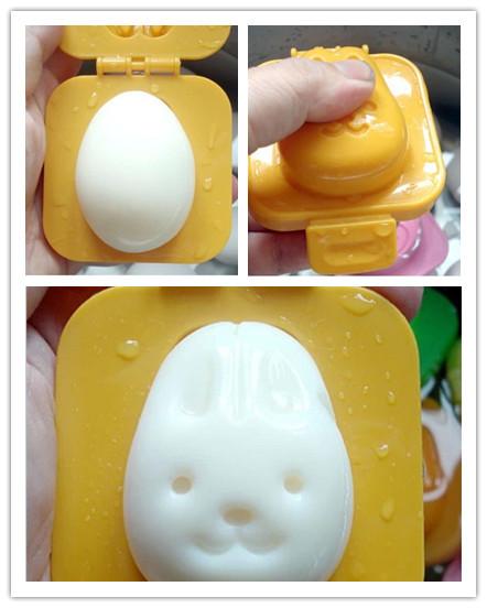 6 Pcs Boiled Egg Sushi Rice Mold Bento Maker Sandwich Cutter Decorating Moul(China (Mainland))