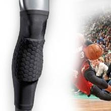 2014 Honeycomb Pad Crashproof Antislip Basketball Leg Knee Long Sleeve Protector(China (Mainland))