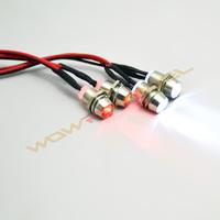 RC Model Drift Car LED Night 5mm & 3mm headlamps headlights LED Light 4pcs LED For RC Car