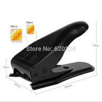 Dual 2 in 1 Micro Sim Cutter for Phone 5 4s 4 Nano SIM Card SIM Adapter for Samsung Galaxy Regular Sim