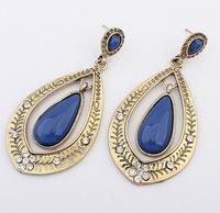 YXSP1540      2014 new fashion   Retro geometric exaggerated personality   earring for women