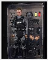 """12"""" 1/6 Soldier SDU Black Uniform Action Figure Model Toy Military Combat Suit* 12"""" 1/6 Soldier SDU Black Uniform Action Figure"""