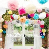 Free shipping 10pcs 8inches,20cm Honeycomb Lantern Paper Flower Balls Hanging Decoration, Wedding ,Party, Festival Decoration
