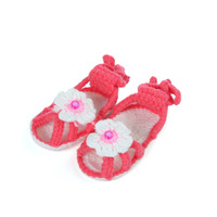 2014 New Baby Boy Girl Handmade Shoes Crochet Winter Crib Shoes Infant Footwear First Walkers Shoes(3 pairs/lot)