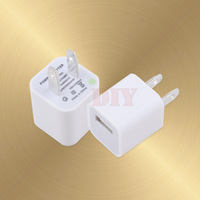 8pcs Mini USB Charger Adaptor for iPhone iPod iPad Mobile Phone Samsung Galaxy US
