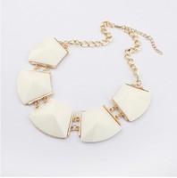 YXSP010  2014 new fashion  Fine geometric multicolor big wild necklace for women