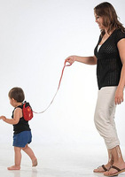 Lovely Ladybug Shape Baby Steps Belt / Anti Lost Belt,Baby product Leashes Also as a Bag for Baby