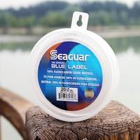 Fishing Line Seaguar 50YD 15LB Blue Label Fluorocarbon Leader Material