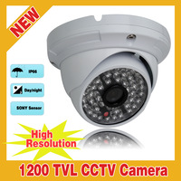 New High resolution Mini 1200TVL SONY IMX138 Sensor IR-Cut infrared Outdoor Security Waterproof CCTV Camera With OSD