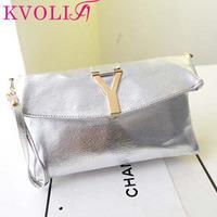 Hot fashion women clutch bag envelope day clutches shoulder bag new 2014 HL2012