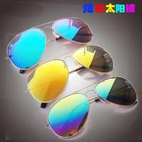 General 2014 colorful sunglasses sun glasses mirror driver large sunglasses 3026