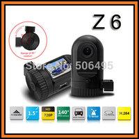 "Ambarella A2S30 Mini Size Z6 Car DVR Camera 1.5"" LCD 720P 30FPS OV9712 G-sensor Night Vision HDMI Video Recorder Car Black Box"