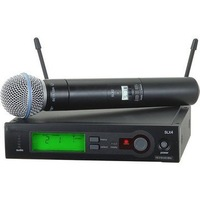 Best Selling Brand Beta 58A Professional Handheld Wireless Microphone Sound System With Lavalier & Bodypack Transmitter
