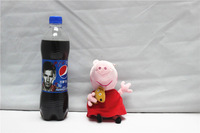 EW-PP-010 factory direct free shipping plush peppa pig toys baby toys 19cm peppa