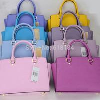 New 2014 summer fashion women PU leather handbags European style high quality Shoulder Bag Selma Medium Size Top Zip Satchel
