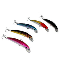 Fishing Lure Floating Lures Hard Baits Pesca Fishing Tackle Vmc Hooks Minnow 11cm 12g Free Shipping