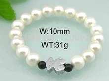 popular pearl silver bracelet