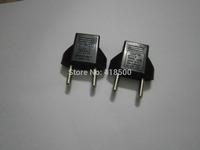 universal EU adapter US/EU to EU converter power switch plug socket converter   2pcs