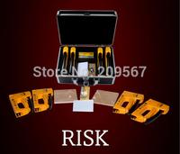 Free Shipping Staple gun ! Risk by Francesco Tesei/ Magic Tricks/Mentalism Magic /Fantastic