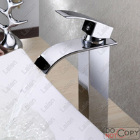 Freeshipping Bathroom Faucet,Waterfall Faucet,Washbasin,Banheiro Torneiras,Basin Faucets,Faucet Mixer