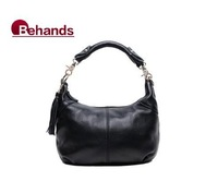 2014 Casual Shoulder Bags Genuine Leather Handbags Women Messenger Purses Wallets 6 Colors BH8863+Free Shipping