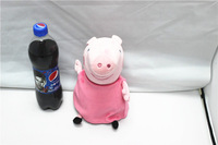 EW-PP-017 factory direct with no PS 100% real photo plush peppa pig toys baby toys 30cm peppa grandma pig
