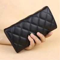 Fashion long black wallet Thirty percent of the purse new women's wallet