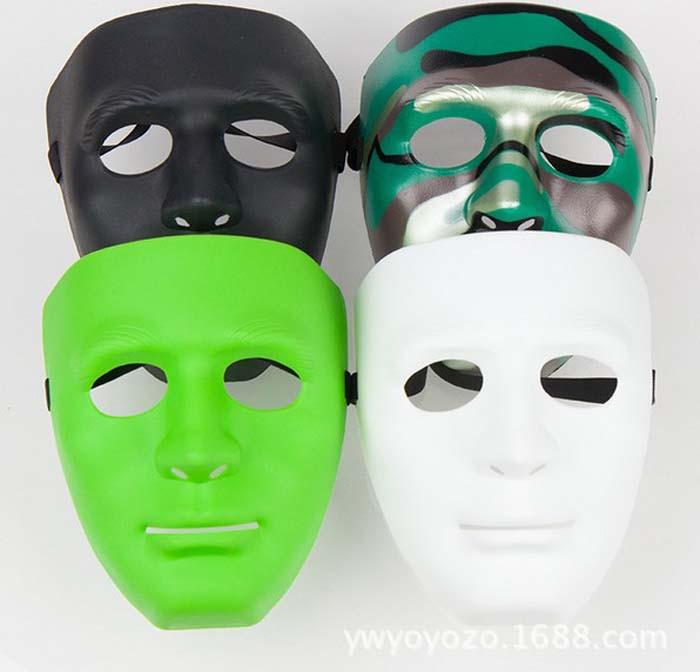 5pcs/lot 2014 New arrival hot sale hiphop mask Jabbawockeez mask men's and women's mask Street Step Dance free shipping(China (Mainland))