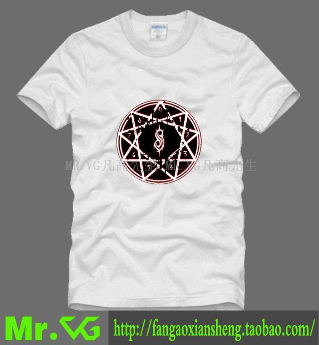 Novo 2014 grátis frete Slipknot banda de rock Heavy metal eua Iowa All Hope Is Gone homem homens macho T-shirt esportes plus size(China (Mainland))