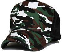 10pcs/Lot COOL Men Summer Camo Flex Fit Mesh SnapBack Hats NEW Men Camouflage Flexfit Net Baseball Hat Blank Sport Camping Caps