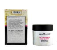 1Pcs/Lot New Bare Minerals BareMinerals Pure Transformation Night Treatment 42g Bare Escentuals Original With Mushroom Brush