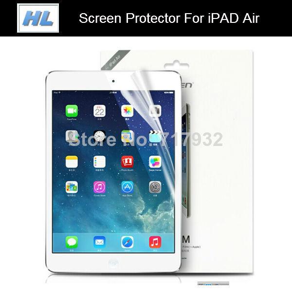 For Apple iPad Air Anti-Glare Screen Protector Anti Glare Matte Film Guard Front For Apple iPad 5 tablet 10pcs/lot(China (Mainland))