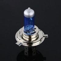 1 Pc Halogen Xenon Low Beam H4 12V 55W P43T Super White Light Bulbs 5000-6000K Free Shipping