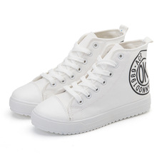 OK 2014 Academy style women canvas Fashion high cut women canvas shoes casual stylish Women LOVE